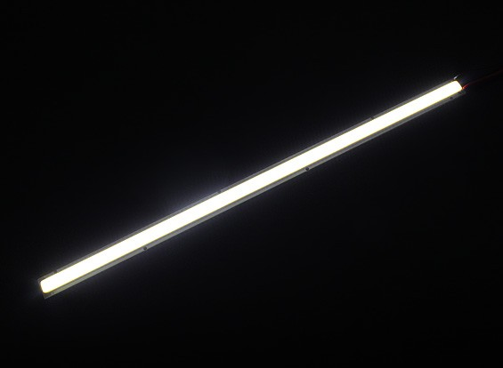 10W Witte LED Lichtmetalen Strip 250mm x 12mm (3s Compatibel)
