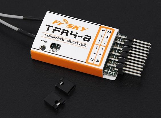 FrSky TFR4B 2.4Ghz 4CH Surface / Air ontvanger FASST Compatible