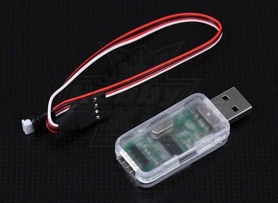 Hobbyking ZYX 3-assige Flybarless System USB Adapter Program