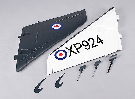 Durafly ™ 1000mm Sea Vixen - Vervanging Main Wing (1 paar)