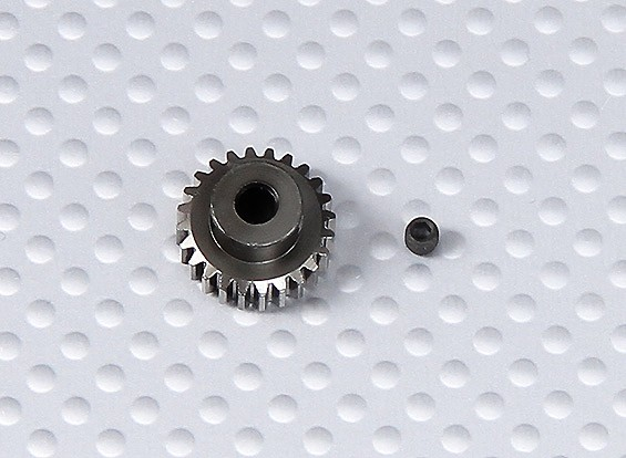 24T / 3.175mm 48 Pitch Steel Pinion Gear