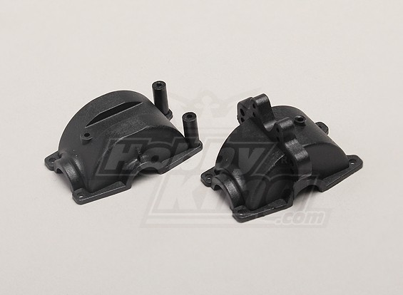 Voor / Rear Gear Box Case - 1/18 4WD RTR On-Road Drift / Short Course / Racing Buggy