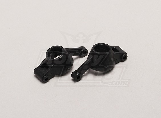 Rear Wheel Hub Links / Rechts (2 stuks / zak) - 1/18 4WD RTR Korte Baan / Racing Buggy