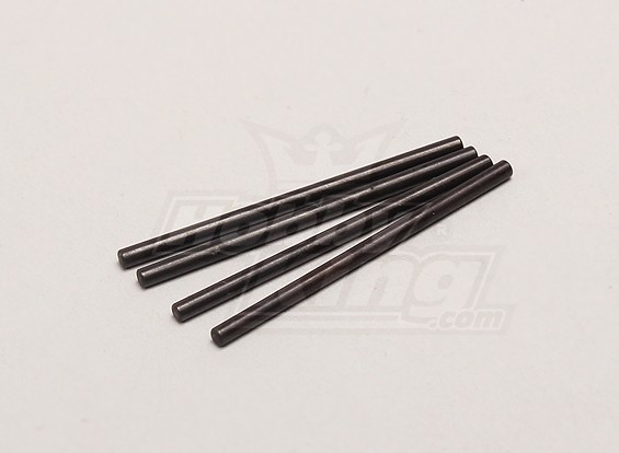 Voor / Rear Lower Suspension Pin 2 * 38mm (4 stuks) - 1/18 4WD RTR On-Road Drift / Short Course / Racing Buggy