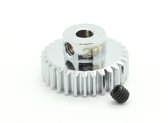 29T / 3.175mm 48 Pitch Steel Pinion Gear