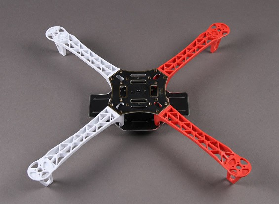 Q450 Glasvezel Quadcopter Frame 450mm - Geïntegreerde PCB Version