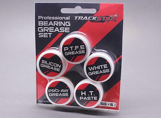 TrackStar Professional Bearing Grease Set [5g x 5]