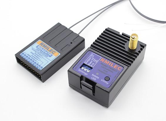 RMILEC TS4047 10CH 2.5W UHF Module System w / ontvanger (Futaba module)