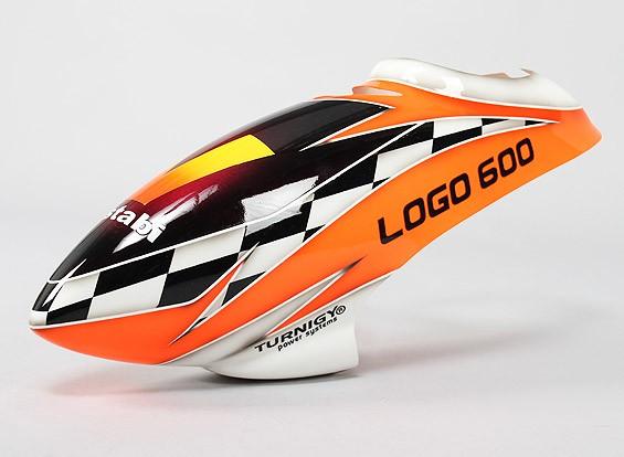 Turnigy High-End Fiberglass Canopy voor Logo 600