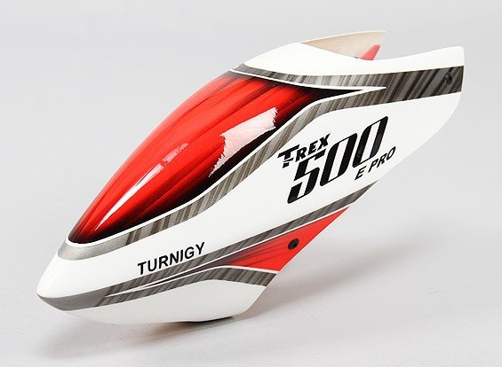 Turnigy High-End Fiberglass Canopy voor Trex 500 Pro