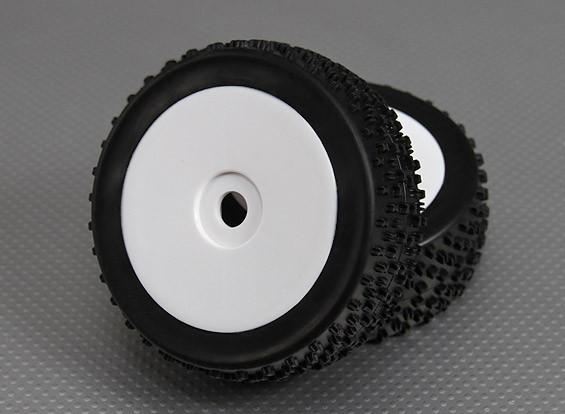 1/8 Buggy wiel / band 17mm Hex (2 stuks / zak)