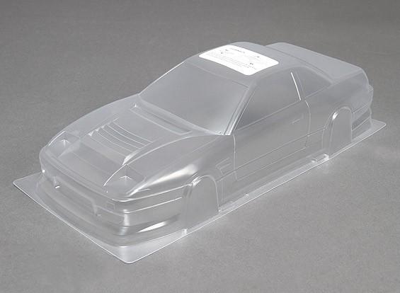 10/01 DM13 Unpainted Car Body Shell w / Decals