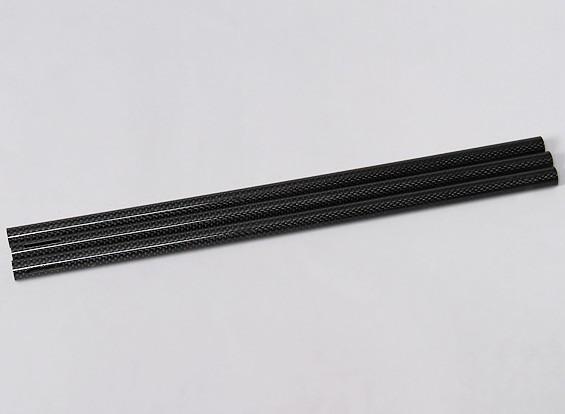 Turnigy Talon Tricopter (V1.0) - Uitgebreide Carbon Fibre Boom (380mm) (3 stuks)