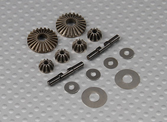 Differential Gear Set 1/10 Turnigy 4WD borstelloze Short Course Truck