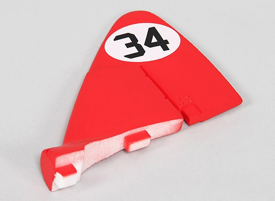 Durafly ™ DH-88 Comet 1120mm - Vervanging Tail Wing