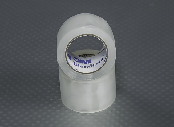 "1 ""x 4m Roll - 3M Blenderm Tape (scharnierende Tape - Twin Pack)"