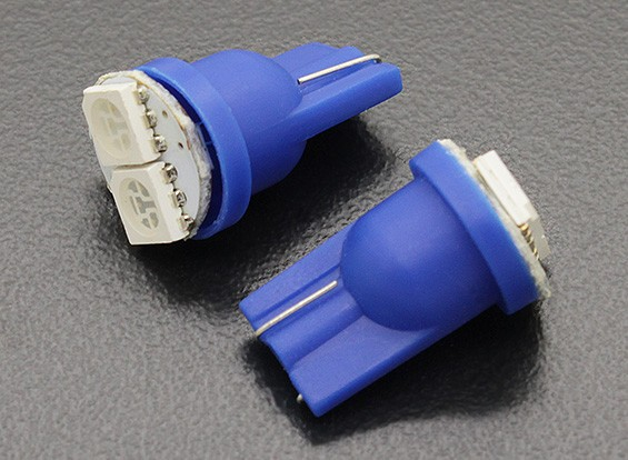 LED Corn Light 12V 0.4W (2 LED) - Blauw (2 stuks)