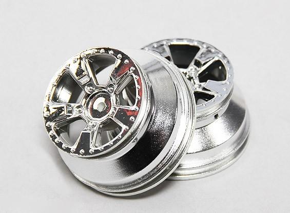 Wielen zilver (2 stuks) A2027T