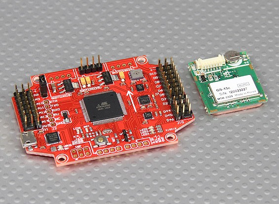 MultiWii PRO Flight Controller w / MTK GPS Module (