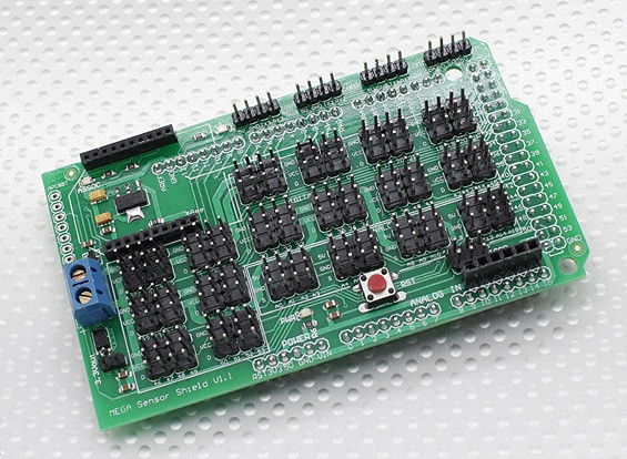 Kingduino Mega Sensor Expansion Shield V1.1