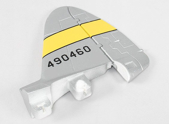 P-47 1600 (PNF) - Vervanging Vertical Tail