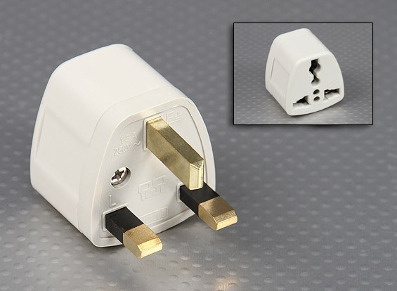 British Standards 1363 Multi-Standard Sockets Adaptor