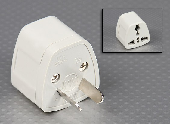 Chinese Normen CPCS-CCC Multi-Standard Sockets Adaptor