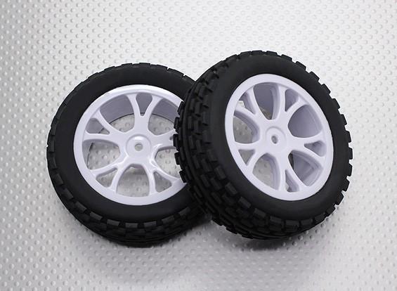 Voorzijde Buggy Tyre Set 2sets (Split 5-Spoke) - 1/10 Quanum Vandal 4WD Racing Buggy (2 stuks)