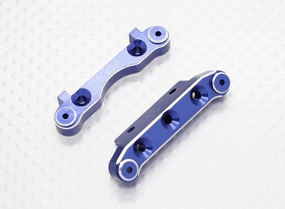 Aluminium front Susp. Holder - 1/10 Quanum Vandal 4WD Racing Buggy (2 stuks)