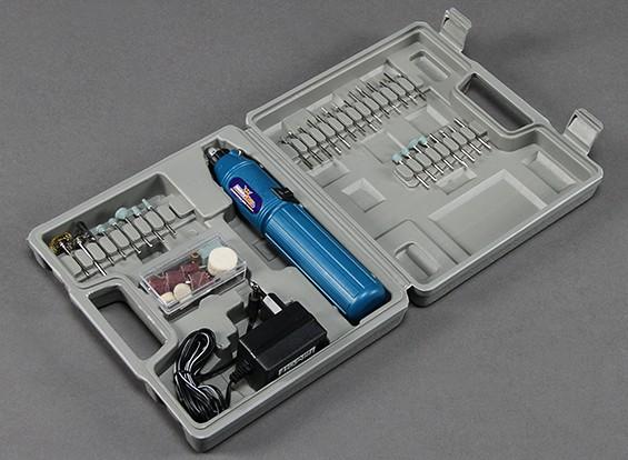 Dremel Style Cordless Hand Rotary-Tool w / 60pc set (230V EU Plug oplader)