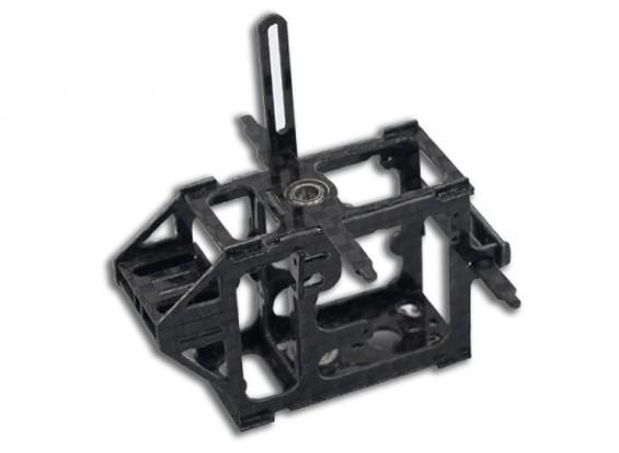 Carbon Fiber Main Upgrade Frame w / Servo's voor MCPX