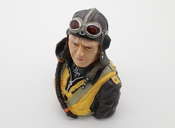 Zeer gedetailleerde Model Pilot (H115 x W94 x D68mm)