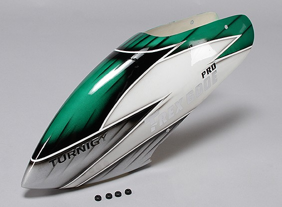 Turnigy High-End Fiberglass Canopy voor Trex 600E PRO