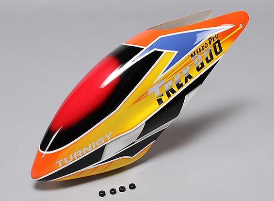 Turnigy High-End Fiberglass Canopy voor Trex 600 PRO Nitro