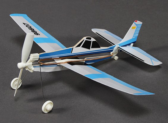 Rubber Band Powered Freeflight AG Husky 292 mm Span