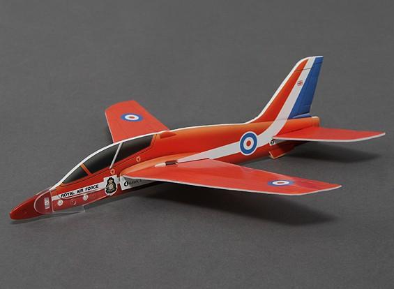 FreeFlight Red Arrows Hawk w / Catapult Launcher 269mm Span
