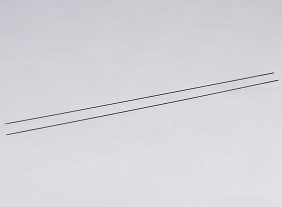 Metal Push Rods M2xL550 (2pcs / set)