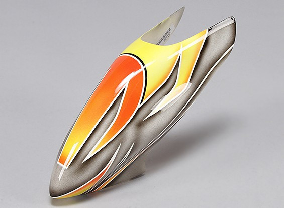 Turnigy High-End Fiberglass Canopy voor 450 Pro V2