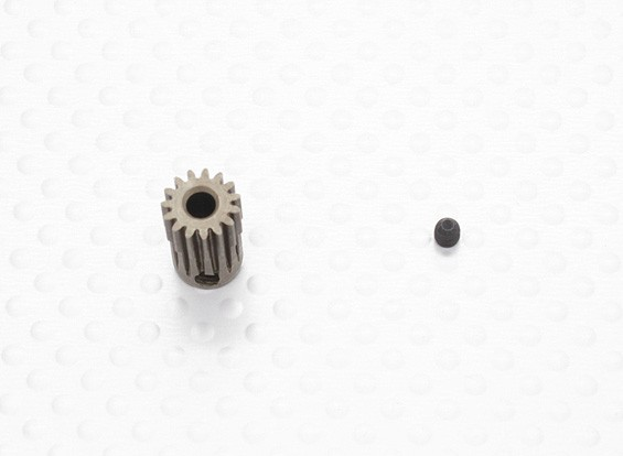 """""""Hard One"""" 0,5M Geharde Helicopter Pinion Gear 3.17mm Shaft - 15T"""