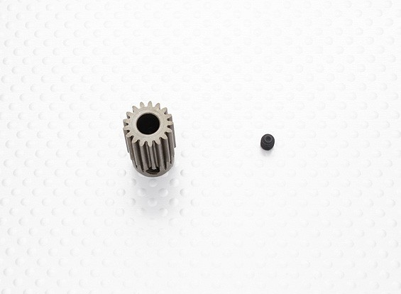 """""""Hard One"""" 0,7M Geharde Helicopter Pinion Gear 6mm Shaft - 17T"""