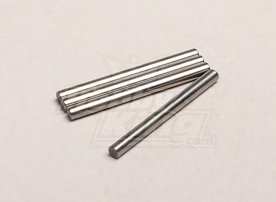Rear Suspension Arm Pin Short - Turnigy Trailblazer 1/8, Turnigy XB en XT