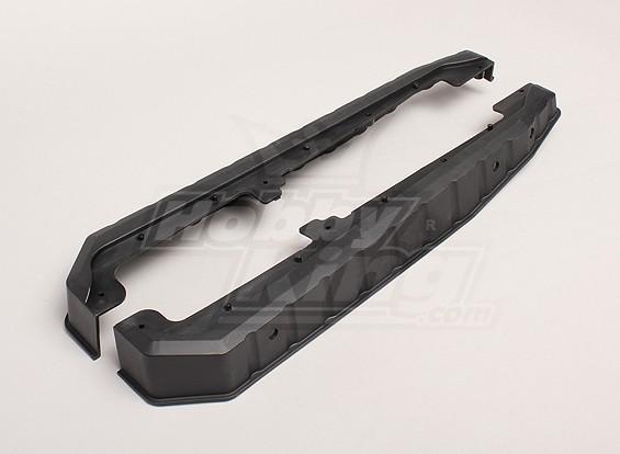 Frame Side Guard Plates L / R - Turnigy Trailblazer XB en XT 05/01
