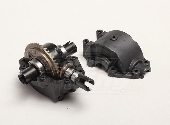 Differential Gearbox Unit - Turnigy Trailblazer 1/8