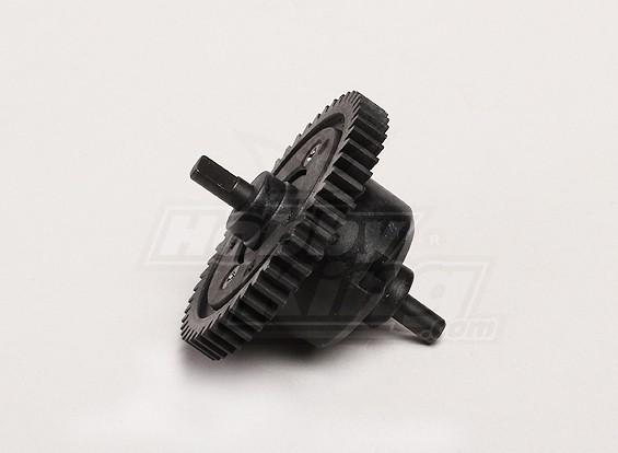 Center Differential w / Main Gear - Turnigy Trailblazer 1/8, XB en XT 05/01