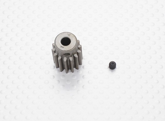 """""""Hard One"""" 1.0M Geharde Helicopter Pinion Gear 5mm Shaft - 14T"""