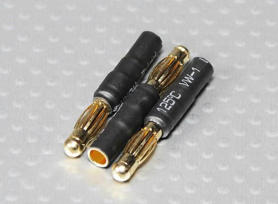 4mm Male naar 3.5mm Vrouw bullet - 3pcs / bag
