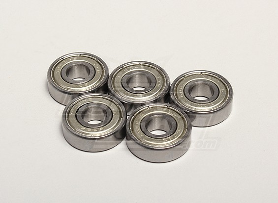 Kogellager 8x22x7mm (5 stuks / zak) - Turnigy Twister 1/5