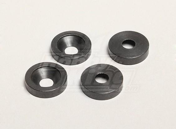 Motor Schroef Spacers (4 stuks) - Turnigy Twister 1/5