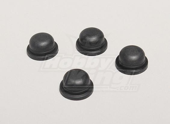 Schokdempers Rubber Cap - Turnigy Twister 1/5
