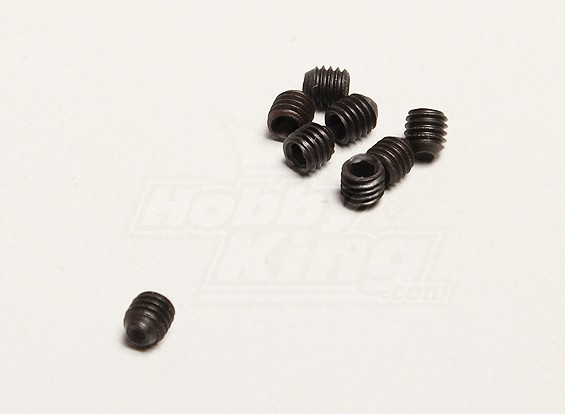 M3x3mm Grub Screw (8 stuks / zak) - Turnigy Twister 1/5